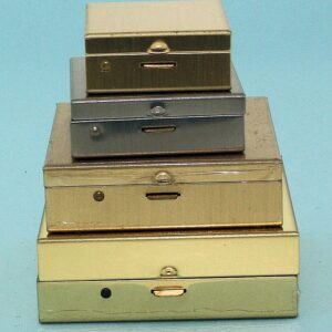 Rectangular Cases made with Pre Finished Metal