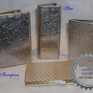 Cases made with Pre finished Metal